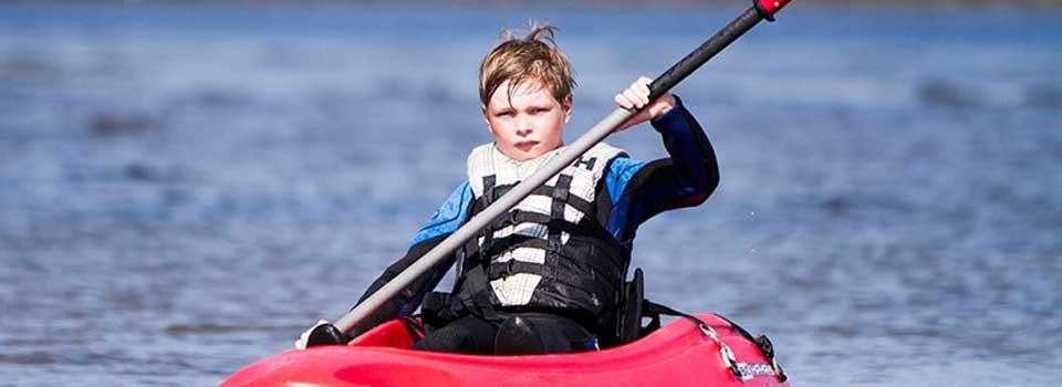 Kayaking and Surfing